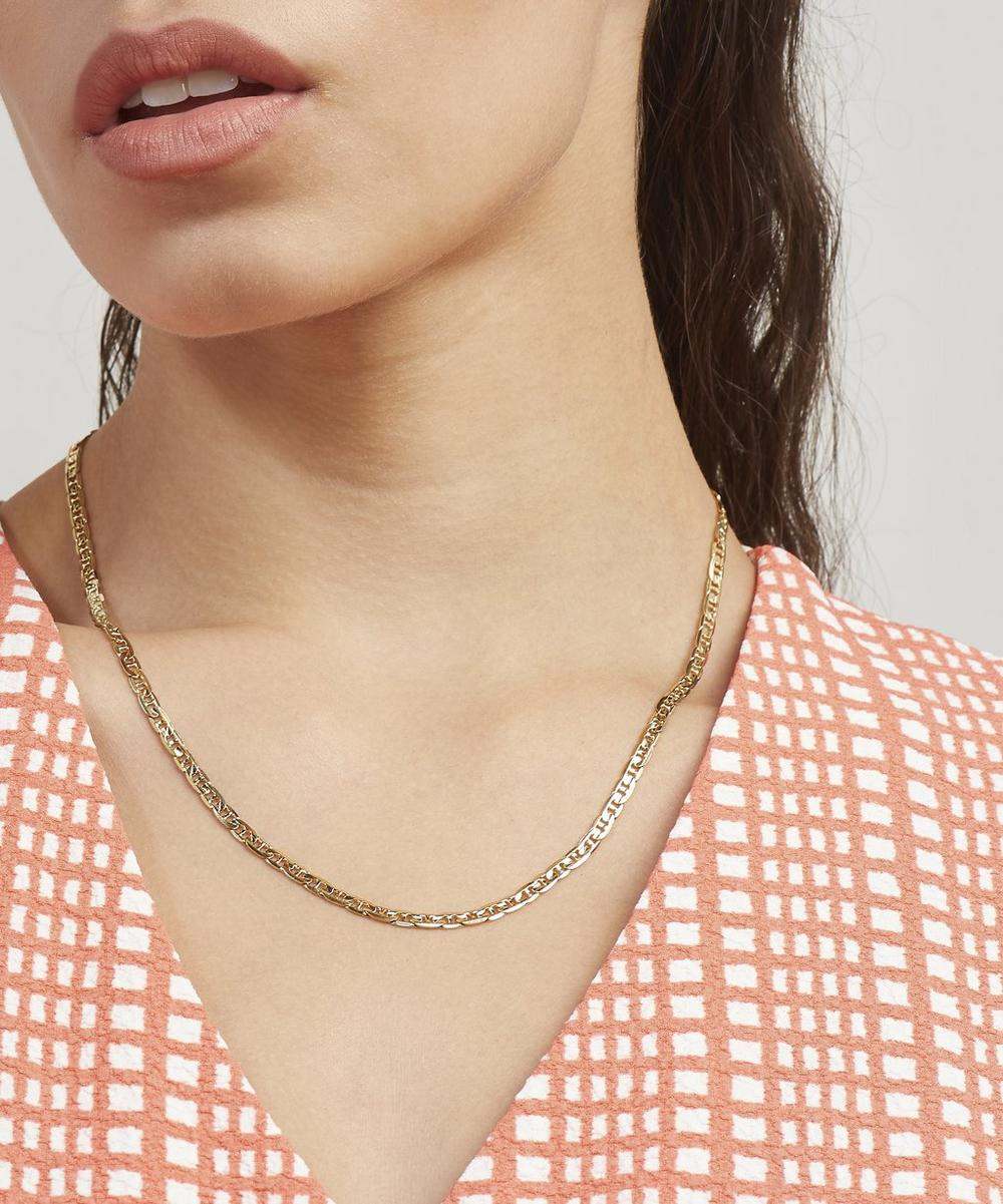 Gold-Plated Carlo Chain Necklace