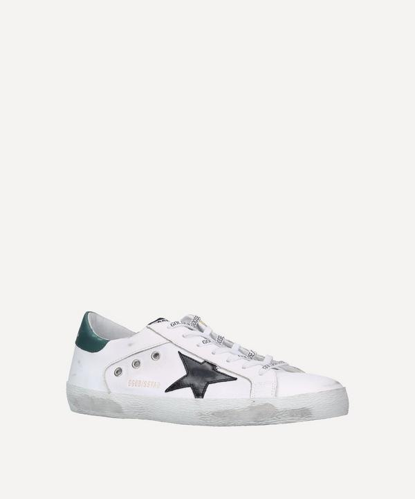 Golden Goose - Superstar Leather and Canvas Sneakers