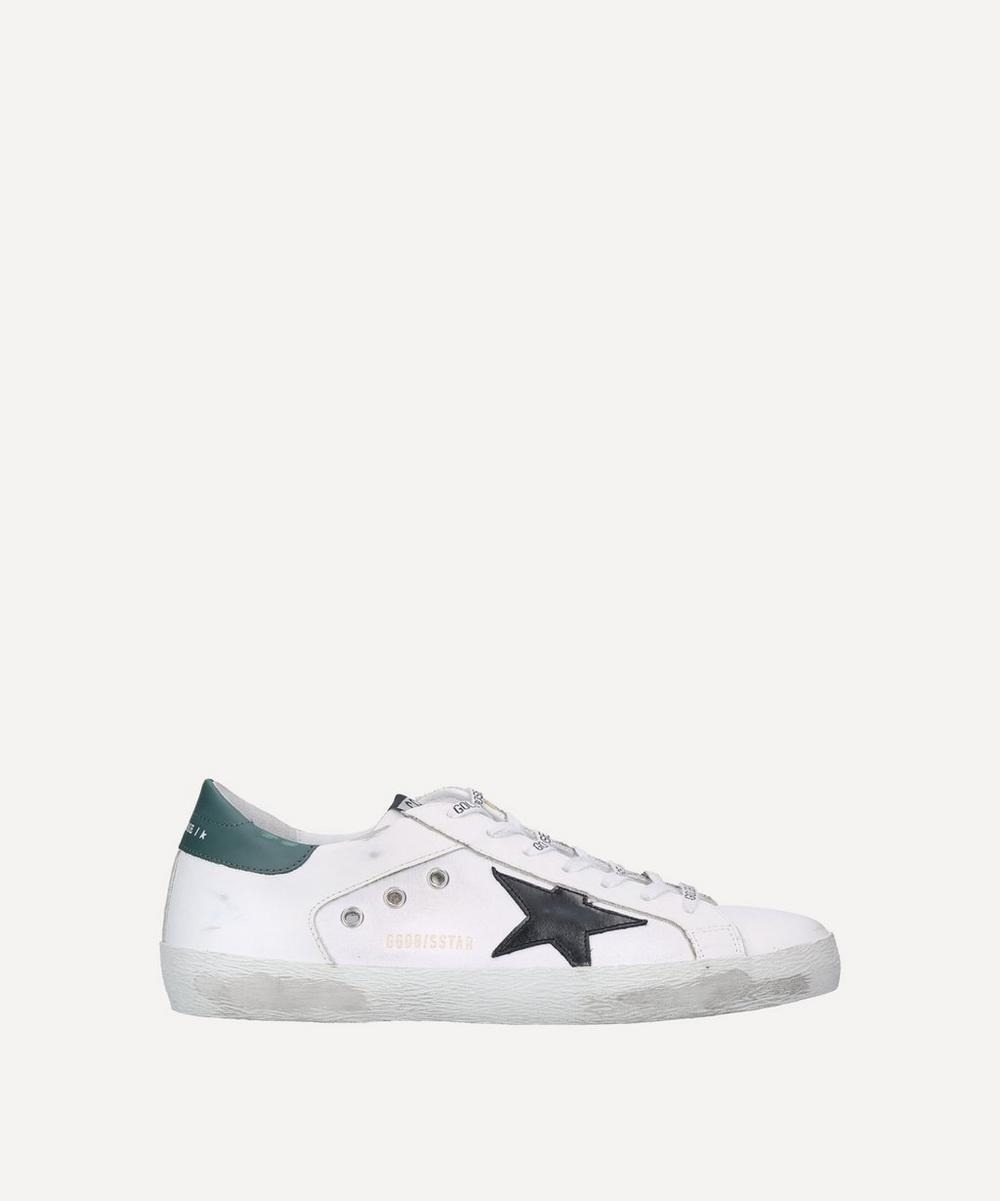 Superstar Leather and Canvas Sneakers