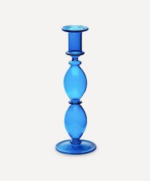 Harbor Glass Candlestick Holder