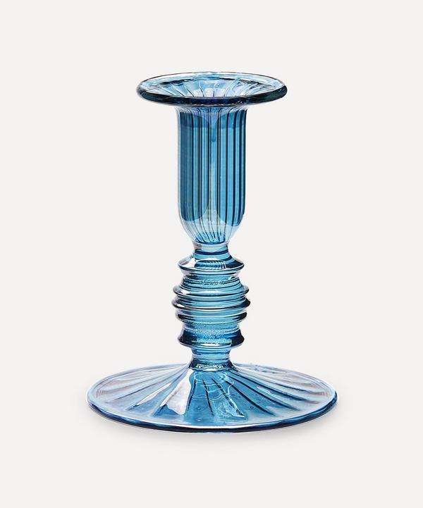 Anna + Nina - Ocean Glass Candlestick Holder