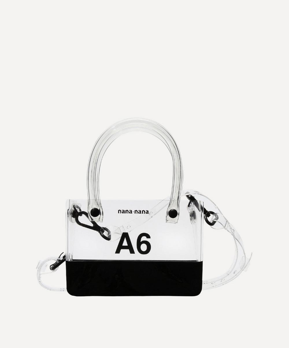PVC Opaque A6 Cross-Body Bag