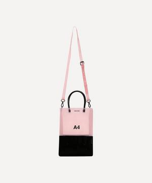 PVC A4 Cross-Body Bag