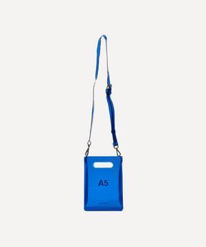 PVC A5 Cross-Body Bag