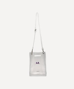 PVC A4 Cross-Body Bag