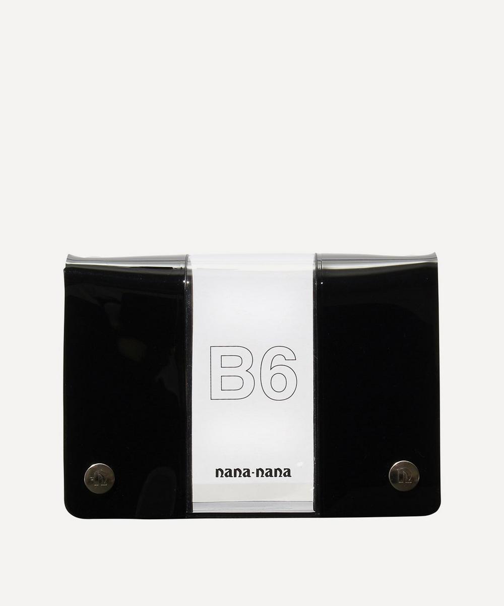 PVC B6 Two-Tone Cross-Body Bag