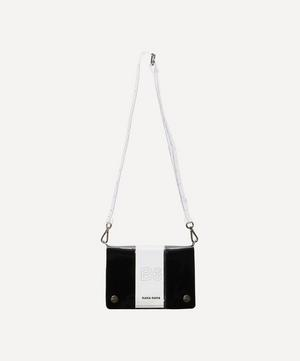 PVC B6 Two-Tone Cross-Body Bag