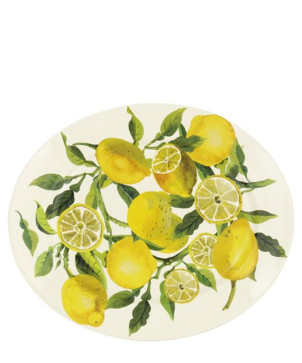 Emma Bridgewater - Vegetable Garden Lemons Medium Oval Platter