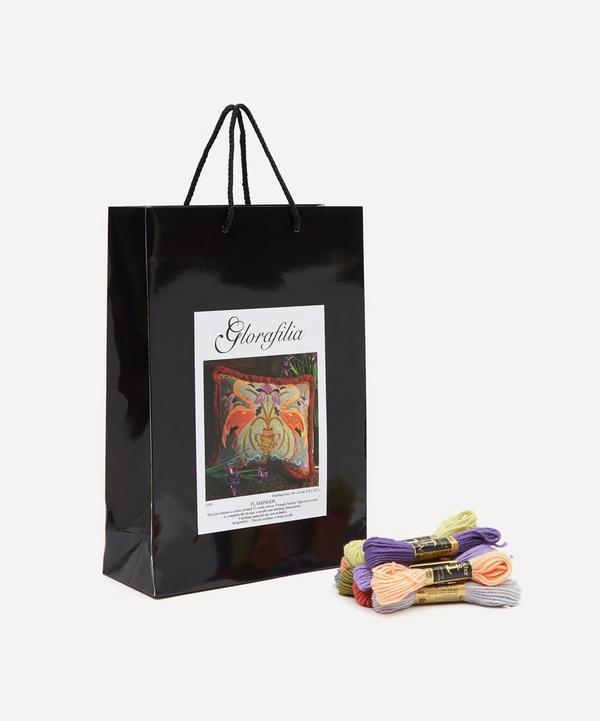 Glorafilia - Flamingos Cushion Needlepoint Kit