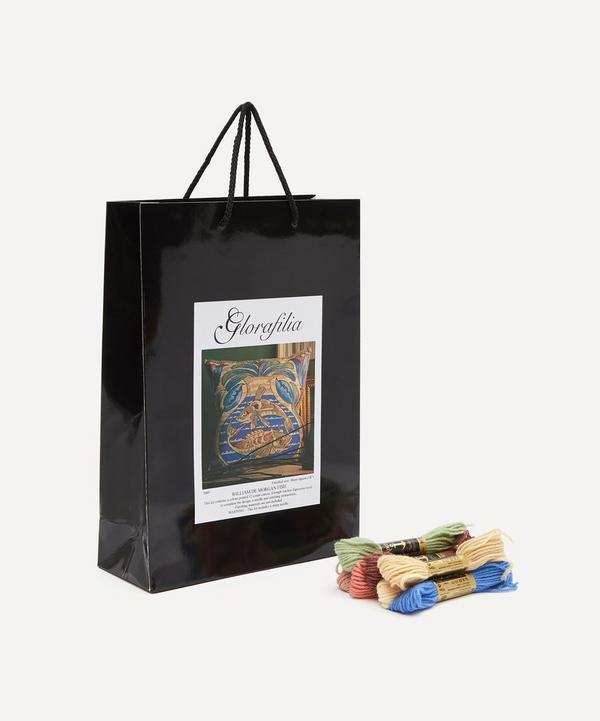 Glorafilia - William de Morgan Fish Cushion Needlepoint Kit