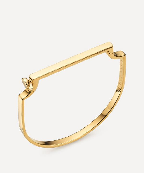 Monica Vinader - Gold Plated Vermeil Silver Signature Thin Bangle