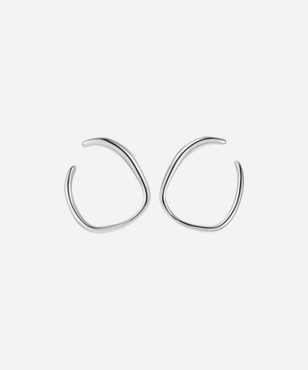 Monica Vinader - Silver Nura Reef Wrap Earrings