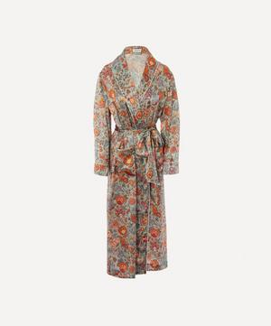 Tree of Life Silk Charmeuse Robe