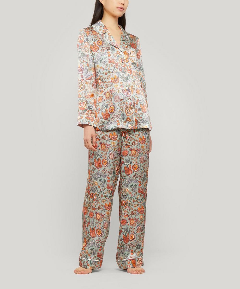 Tree of Life Silk Charmeuse Pyjama Set