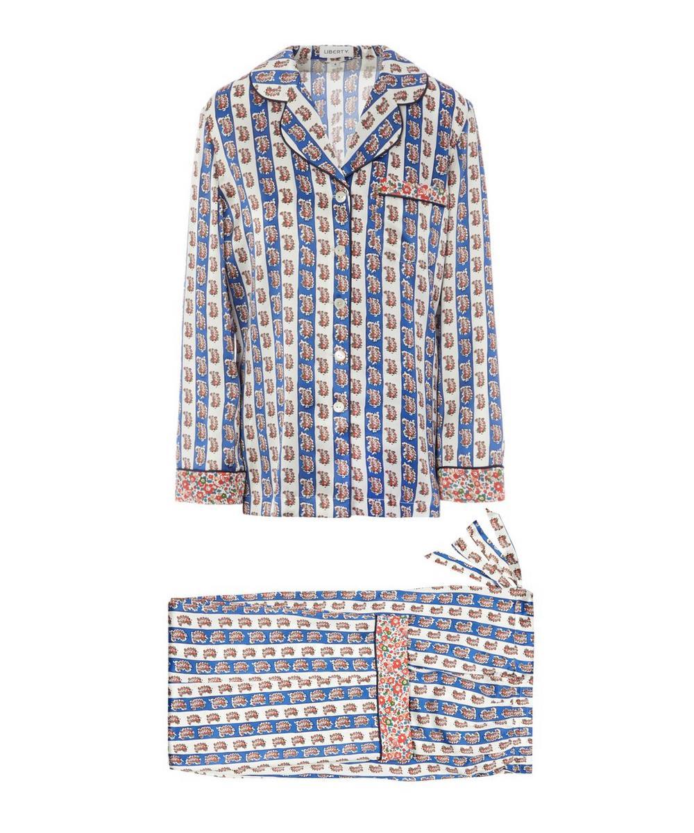 Giulietta and Betsy Silk Charmeuse Pyjama Set