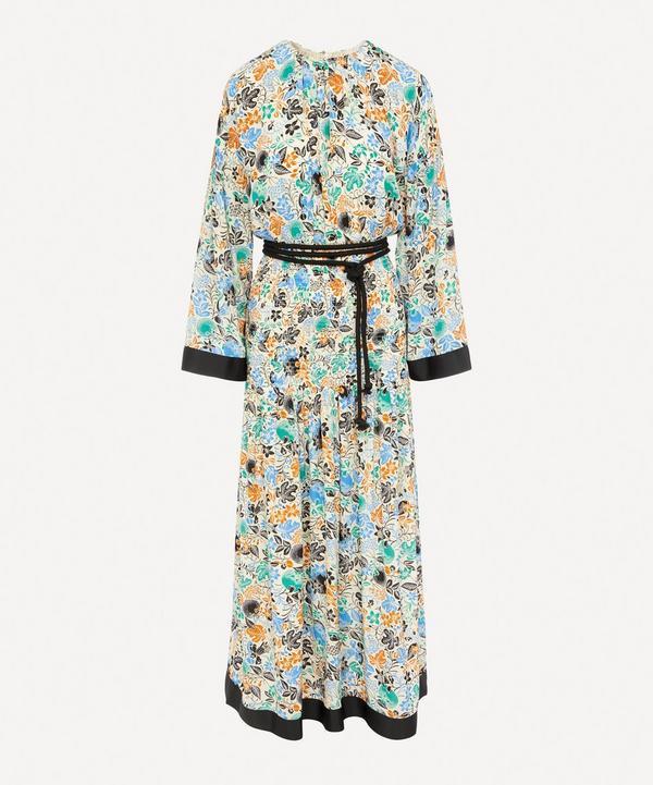 Reham Smock Waist Maxi-Dress