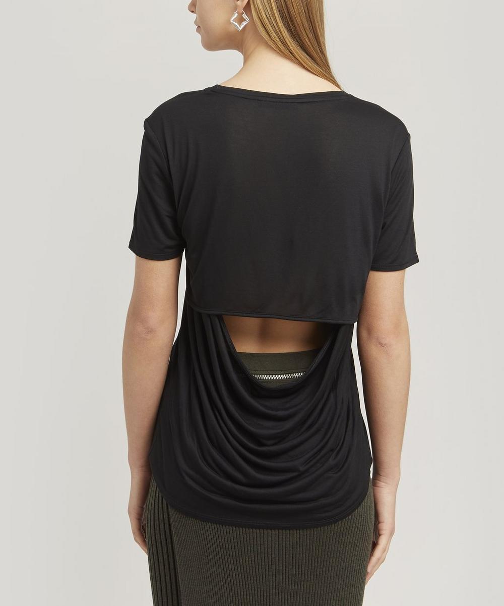 Slash Back T-Shirt