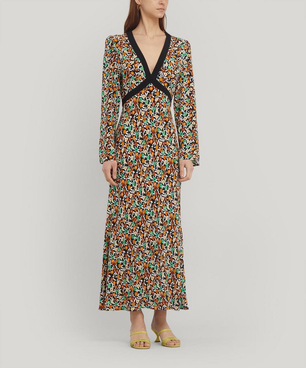 Tania Tie Midi-Dress