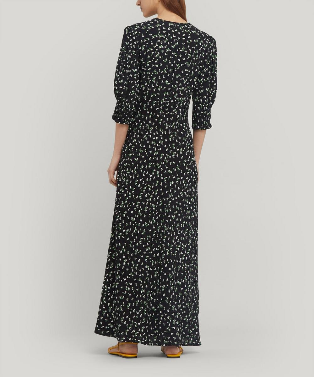 Zadie V-Neck Midi-Dress