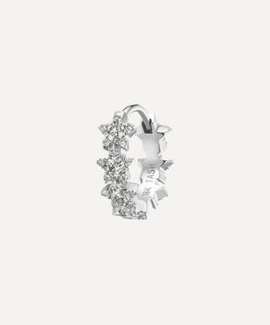 8mm Diamond Constellation Eternity Hoop Earring