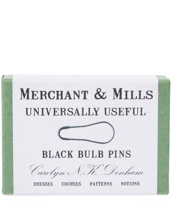 Black Bulb Safety Pins