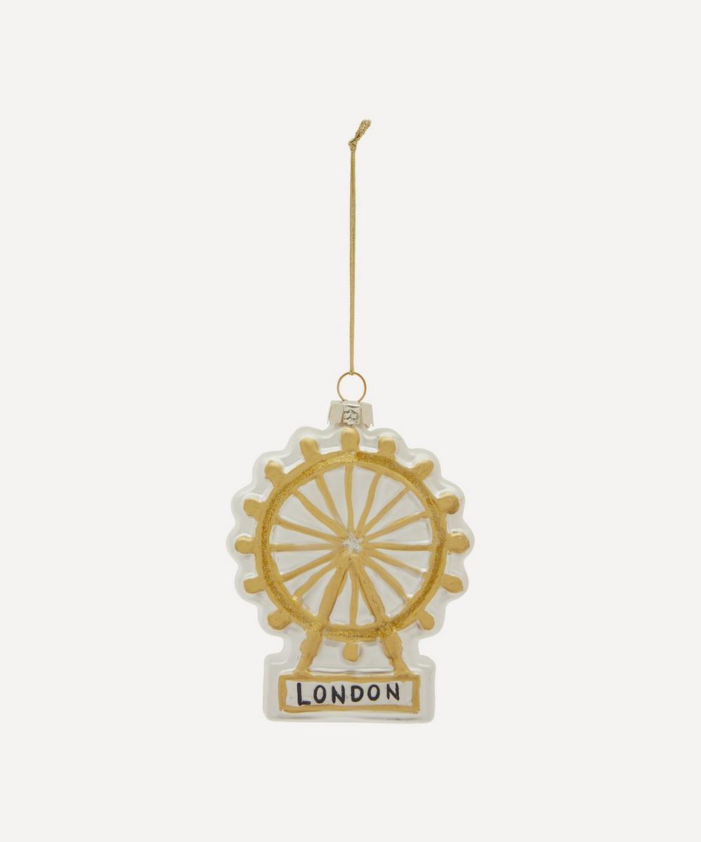 Unspecified - London Eye Glass Decoration