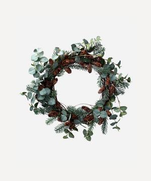 Fir Cone Wreath