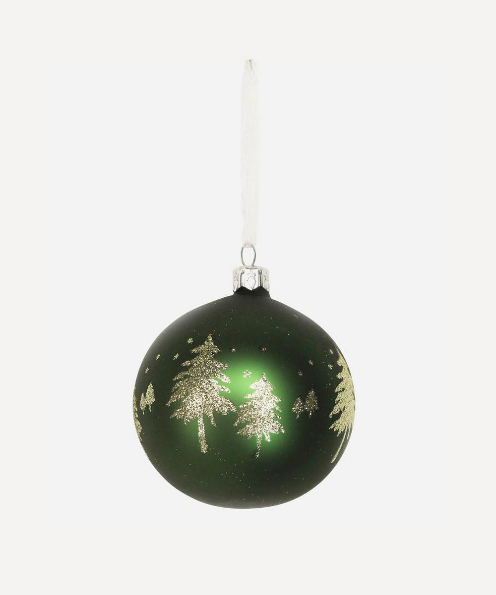 Unspecified - Glitter Trees Bauble