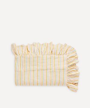Stripe Linen Frill Quilt