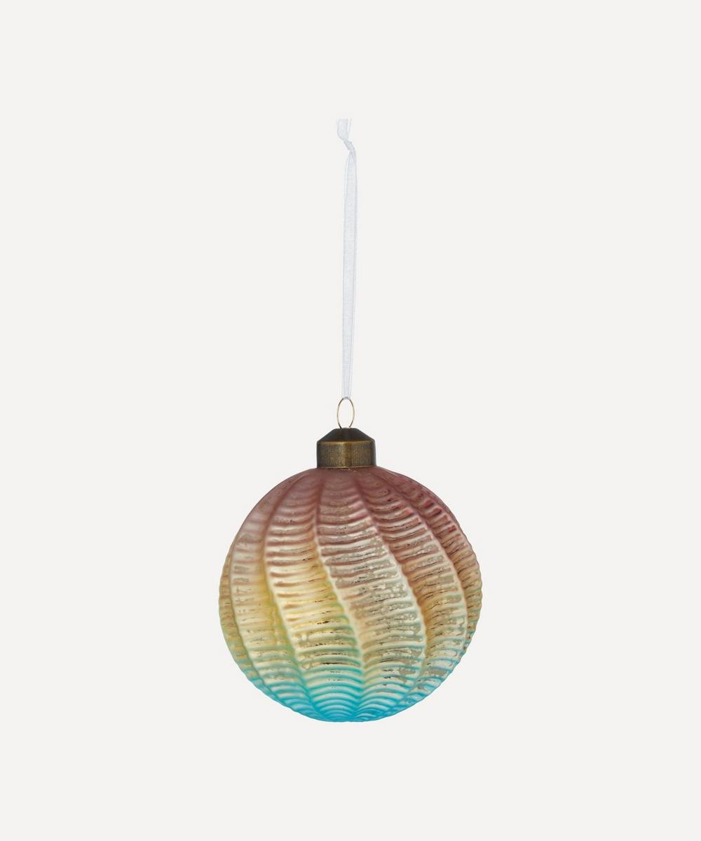 Unspecified - Rainbow Spiral Bauble