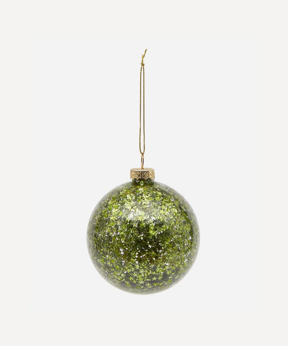 Unspecified - Glitter Glass Decoration