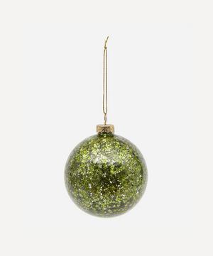 Glitter Glass Decoration