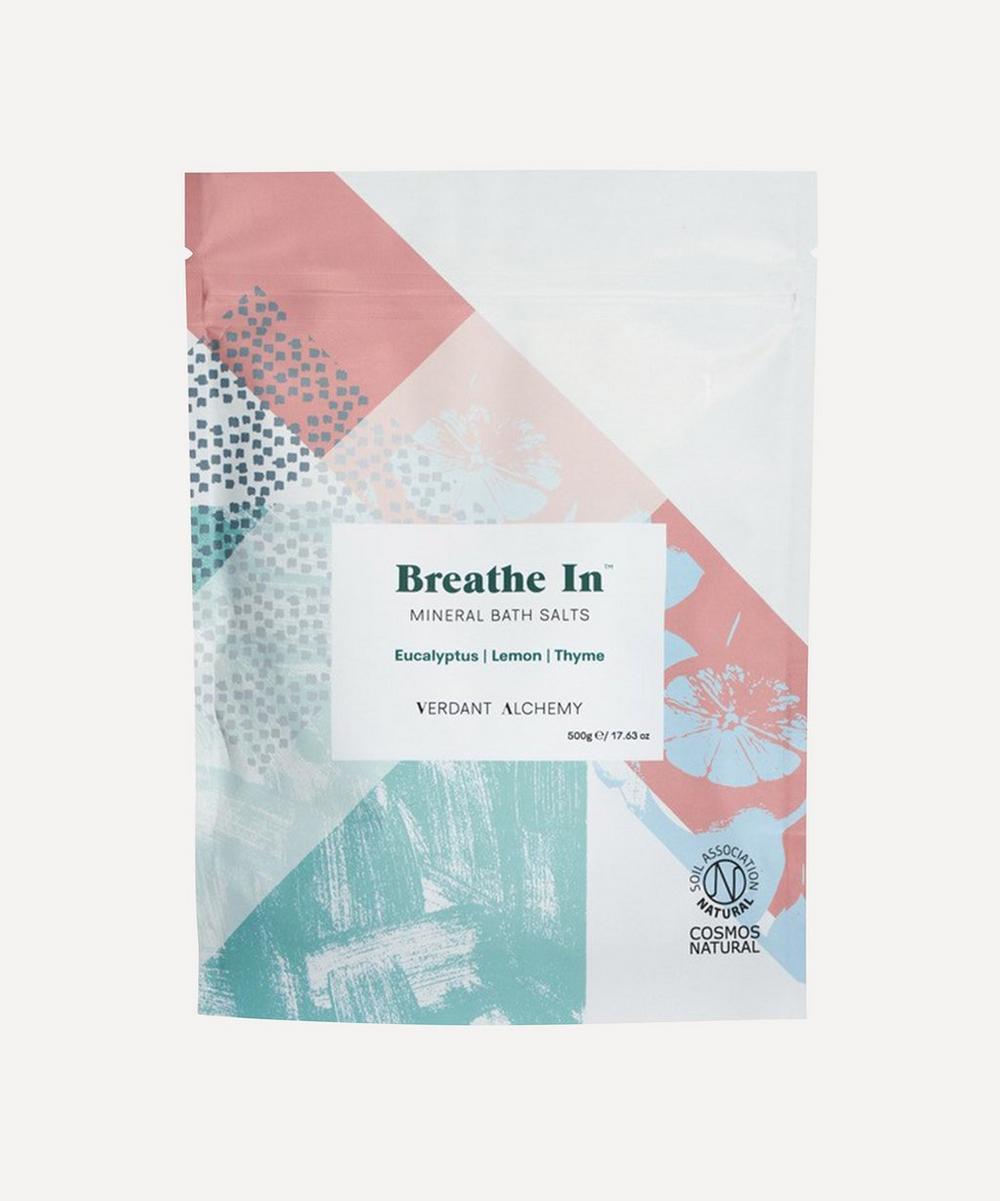 Verdant Alchemy - Breathe In Bath Salts 500g