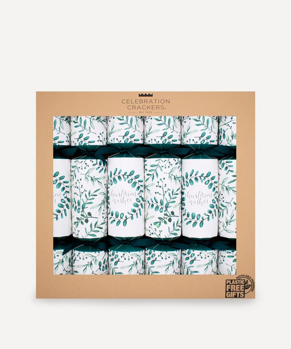 Unspecified - Botanical Leaves Crackers Set of Six