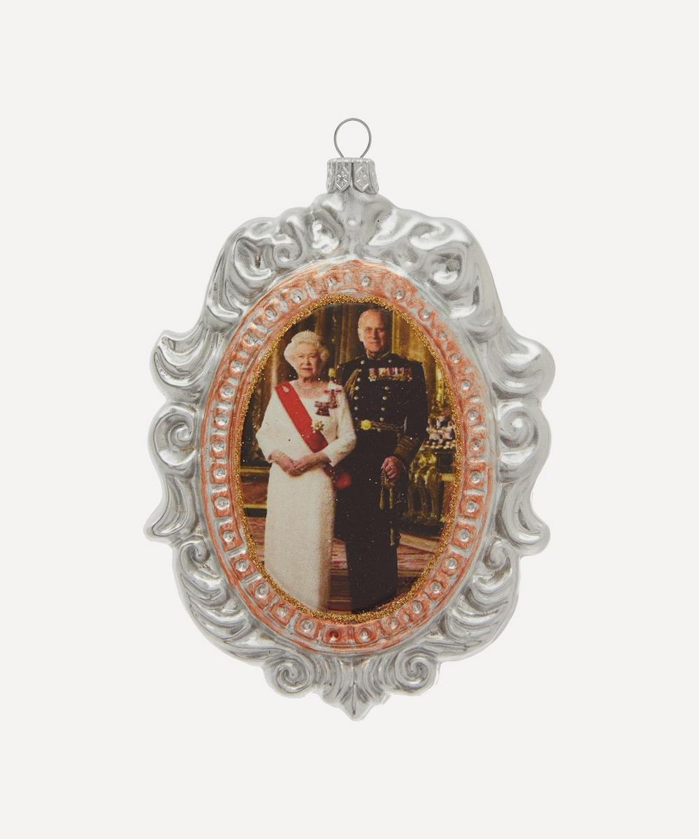 Unspecified - Queen Elizabeth II and Prince Philip Decoration