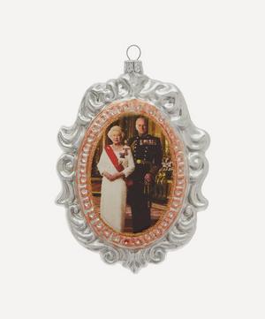 Queen Elizabeth II and Prince Philip Decoration