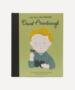 Little People, Big Dreams David Attenborough
