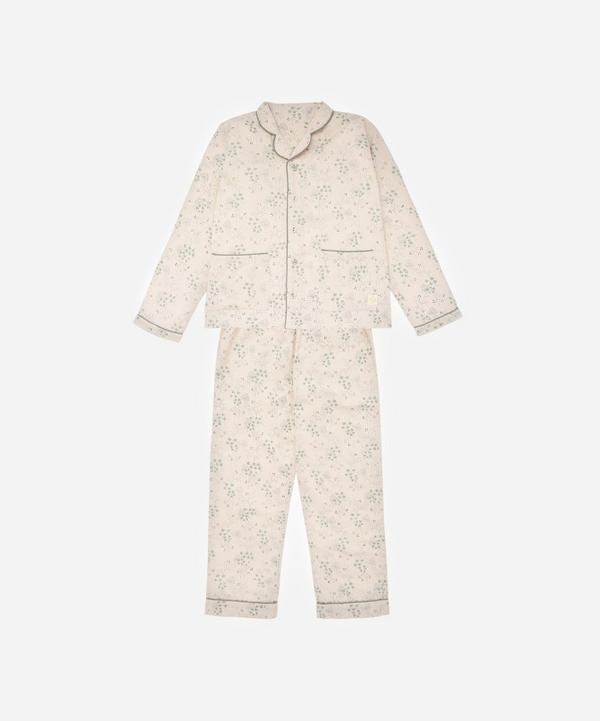 Camomile London - Minako Cornflower Pyjama Set 6-7 Years