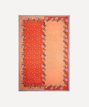 Indonesian Orange Tablecloth