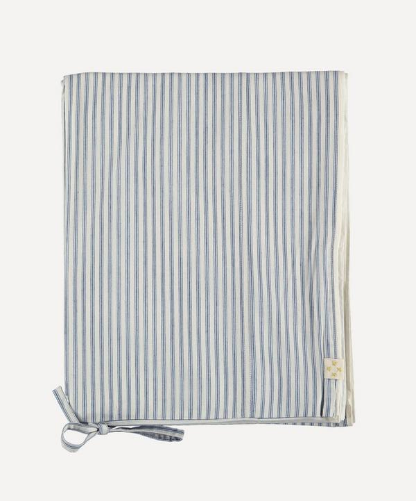 Camomile London - Ticking Stripe Single Duvet Cover