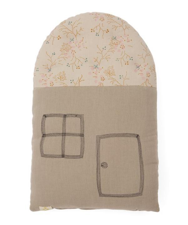 Camomile London - Small House Minako Golden Cushion