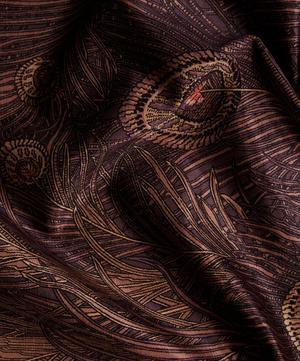 Hera Feather Vintage Velvet in Dragonfly