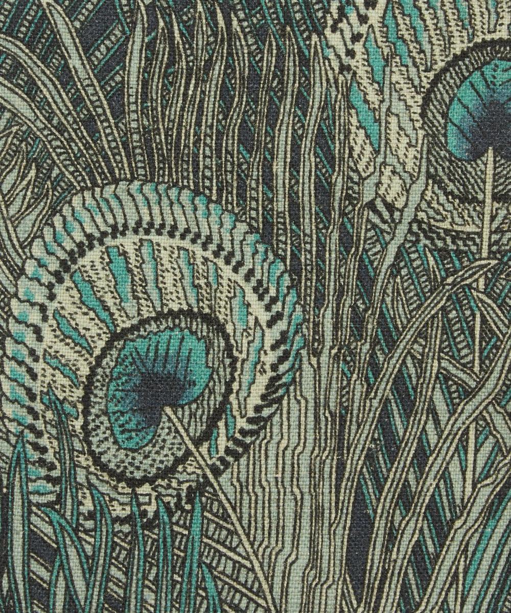 Liberty Interiors - Hera Feather Ladbroke Linen in Jade