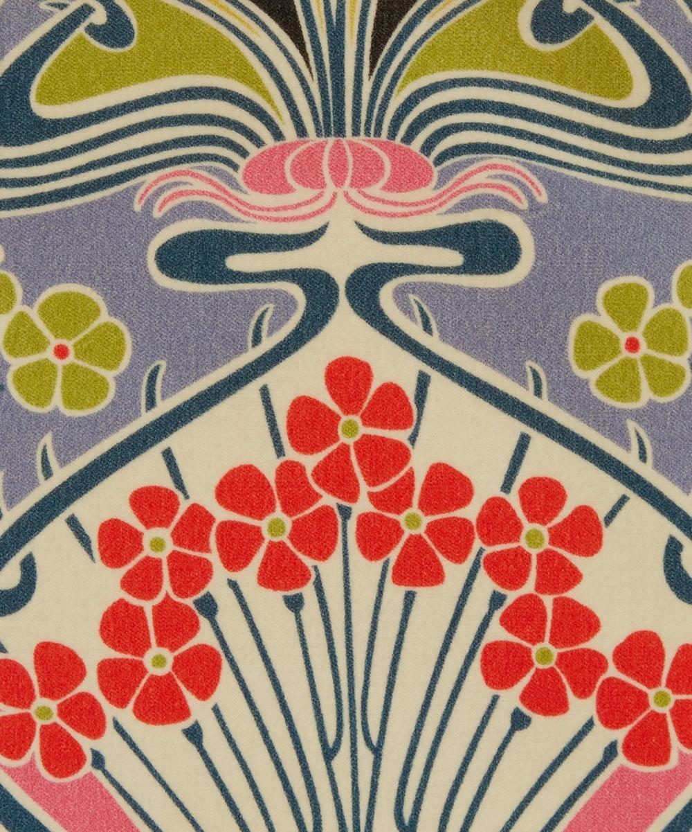 Ianthe Bloom Multi Cotton Velvet in Lichen