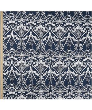 Ianthe Bloom Stencil Chiltern Linen in Pewter