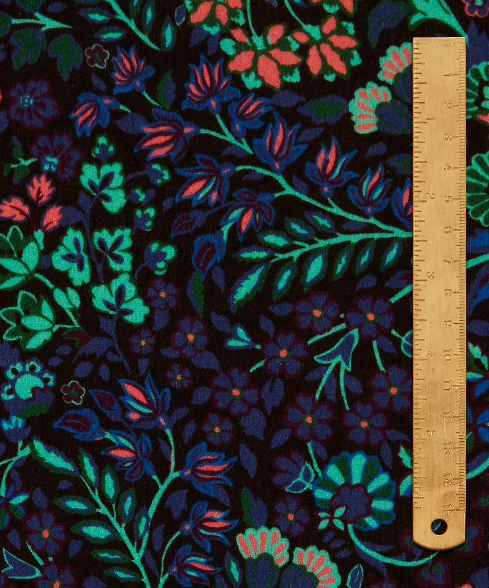 Marquess Garden Cotton Velvet in Jade