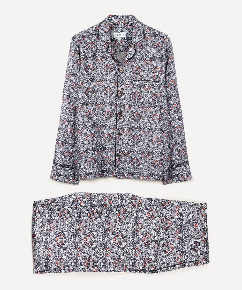 Liberty - Strawberry Thief Silk Satin Pyjama Set