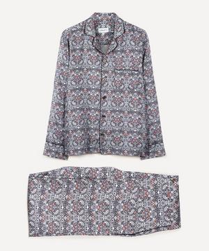 Strawberry Thief Silk Satin Pyjama Set