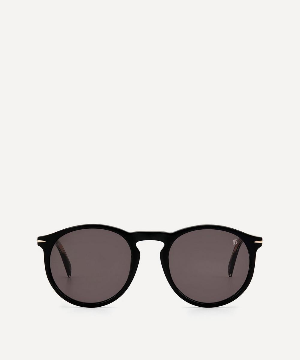 Eyewear by David Beckham - Round-Frame Acetate Sunglasses