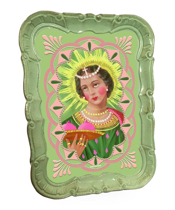Santa Agata Small Decorative Tray